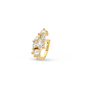 CRC-1004-Y Cleo Roze Yellow Gold ear cuff