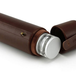 Hydrology9 Leather Carrying Case - Available in Light & Dark Brown - BHANGO HEAD SHOP - Premium Glass, Vape and Cannabis Accessories