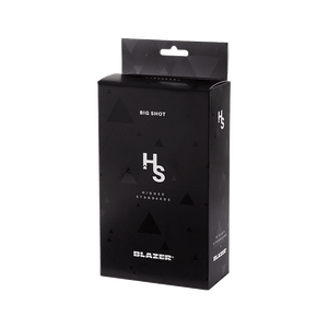 HIGHER STANDARDS BLAZER BIG SHOT BLACK - BHANGO HEAD SHOP - Premium Glass, Vape and Cannabis Accessories