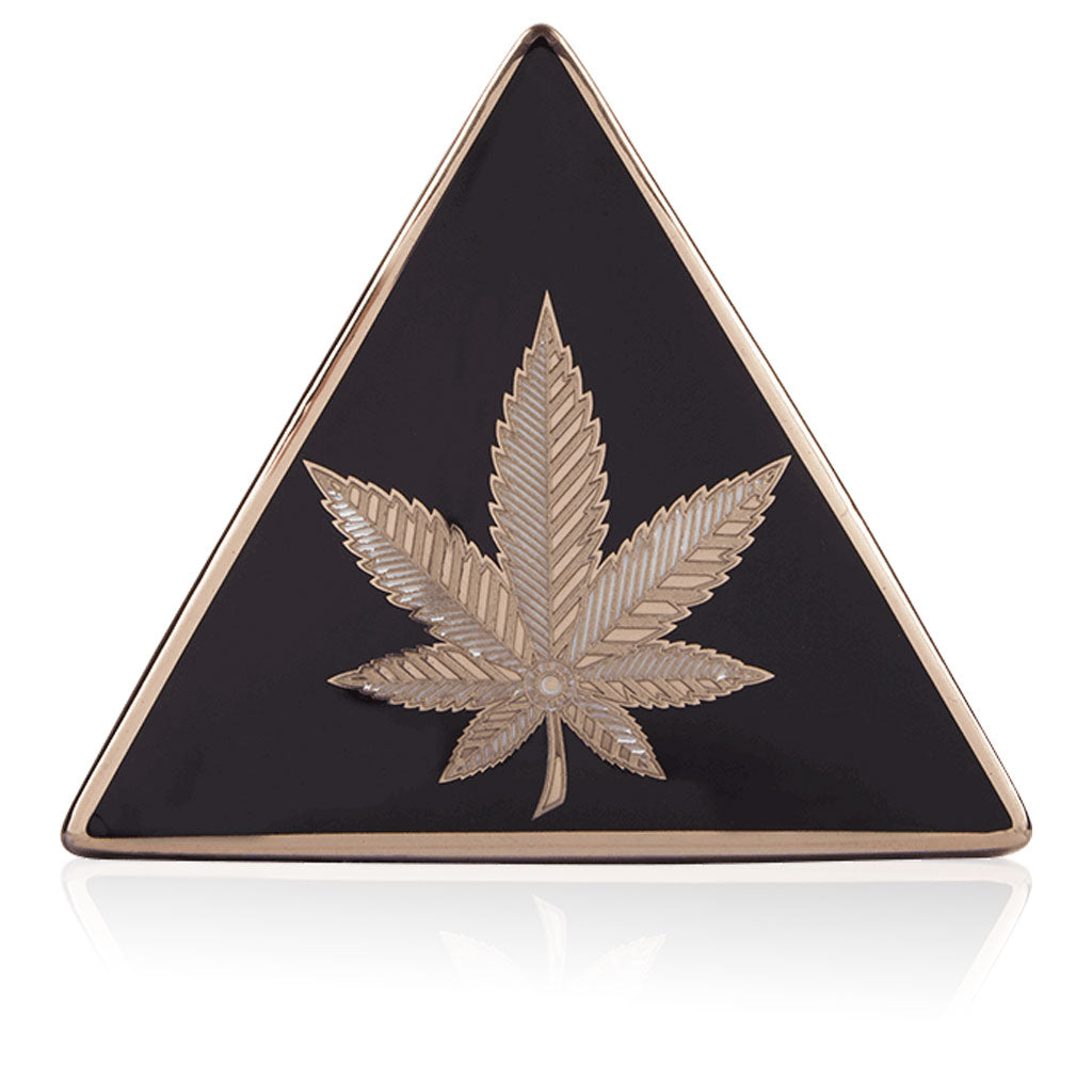 HIGHER STANDARDS X JONATHAN ADLER HASHISH TRIANGLE BOX - BHANGO HEAD SHOP - Premium Glass, Vape and Cannabis Accessories
