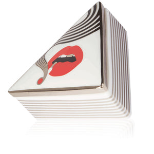 HIGHER STANDARDS X JONATHAN ADLER SMOLDER TRIANGLE BOX