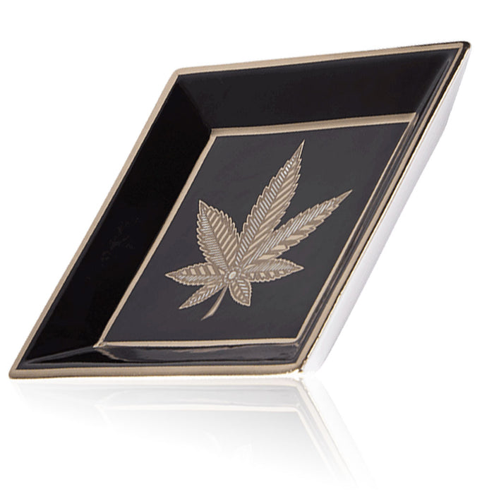 HIGHER STANDARDS X JONATHAN ADLER HASHISH SQUARE TRAY - BHANGO HEAD SHOP - Premium Glass, Vape and Cannabis Accessories