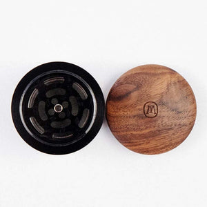 Marley Natural Walnut Herb Grinder [Small]