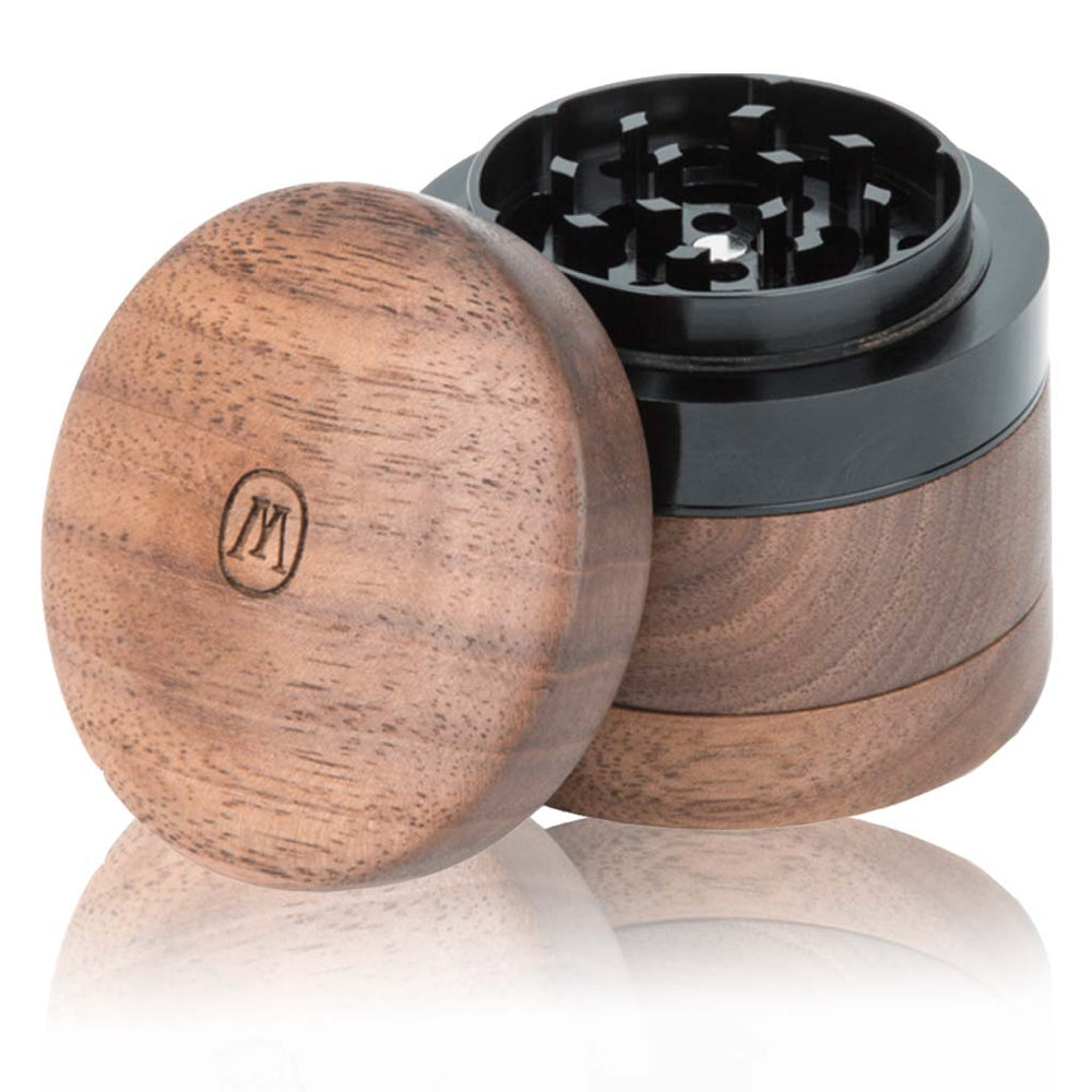 Marley Natural Small Wood grinder BHANGO HEAD SHOP  Premium Vape and Cannabis Accessories