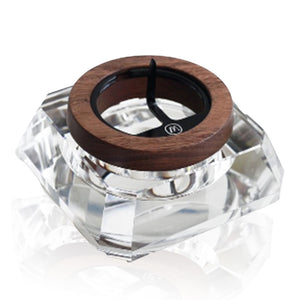 Marley Natural CRYSTAL & Black Walnut ASH TRAY - BHANGO HEAD SHOP - Premium Glass, Vape and Cannabis Accessories