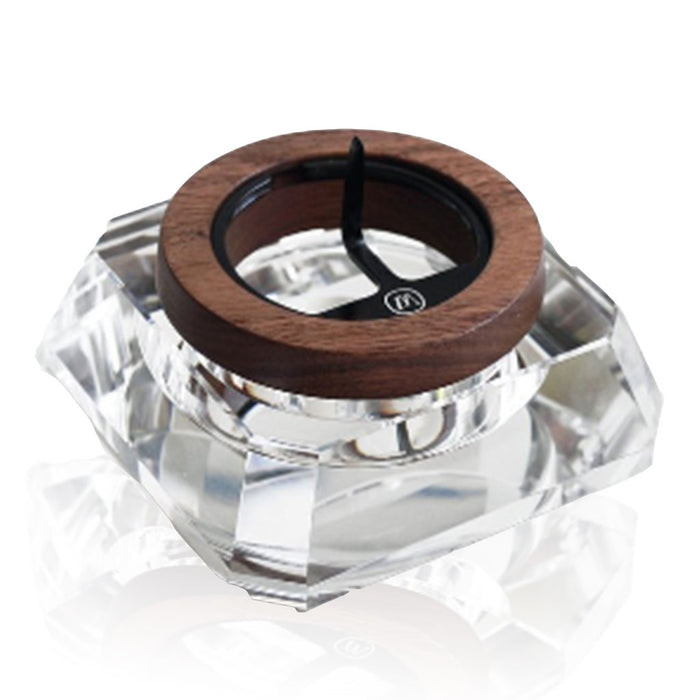 Marley Natural CRYSTAL & Black Walnut ASH TRAY