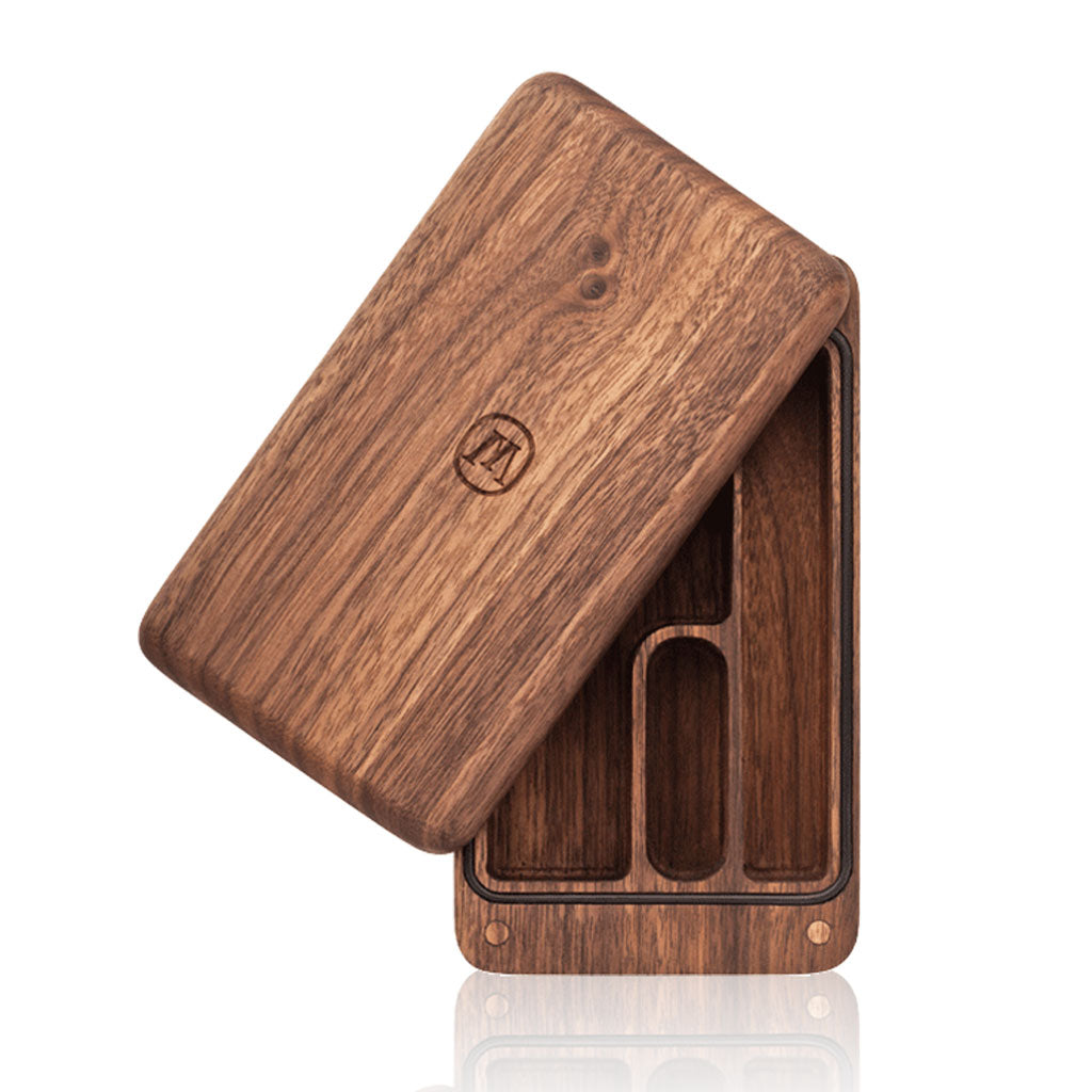 Marley Natural Small Case - Black Walnut Herb Case