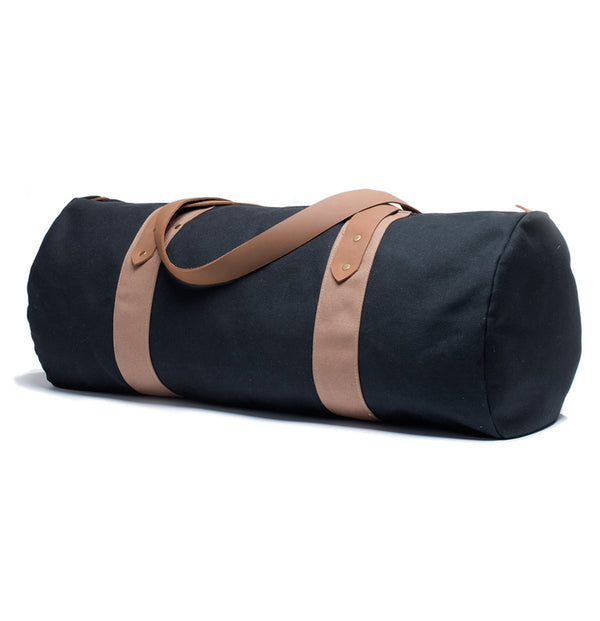Black Canvas Duffel