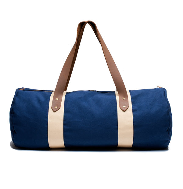 Blue Canvas Duffel