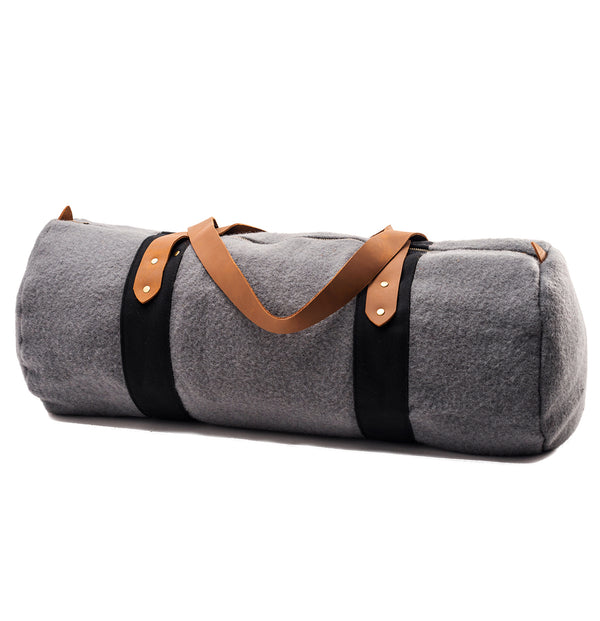 Grey True Duffel