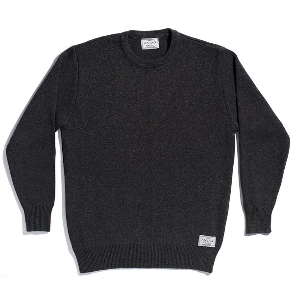 The Fisherman Sweater Dark Grey