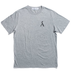 Van Isle Grey Cotton Tee