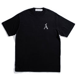 Van Isle Black Cotton Tee