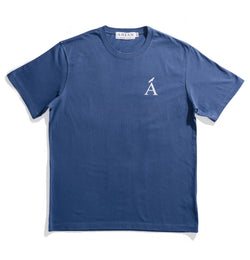 Van Isle Navy Cotton Tee