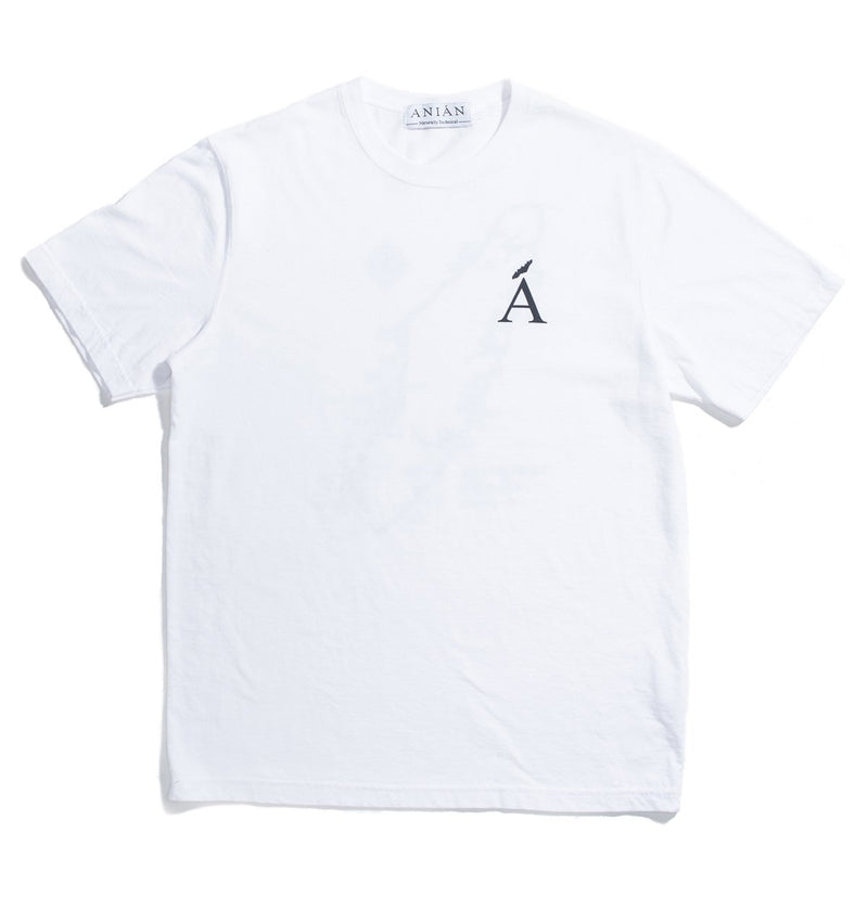 Van Isle White Cotton Tee