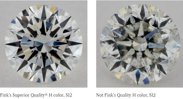 Fink's Diamond Quality Comparison