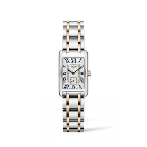 Longines DolceVita Collection 20mm Steel and Gold Ladies' Watch