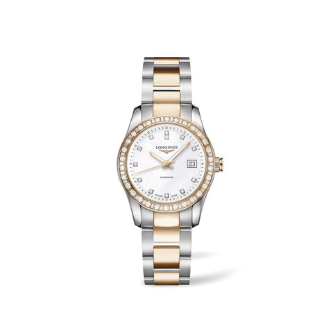 Longines Conquest Classic Collection 29.5mm Mother-of-Pearl Dial Ladies' Watch