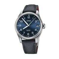 Oris Big Crown ProPilot Date Blue Dial Watch with Textured Fabric Strap