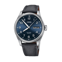 Oris Big Crown ProPilot Big Day Date Blue Dial Watch with Grey Strap