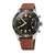 Load image into Gallery viewer, Oris Divers Sixty-Five Automatic Chronograph Watch with Black Dial and Leather Strap