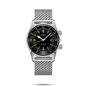 Longines Heritage Legend Collection Diver 42mm Gent's Watch with Black Dial