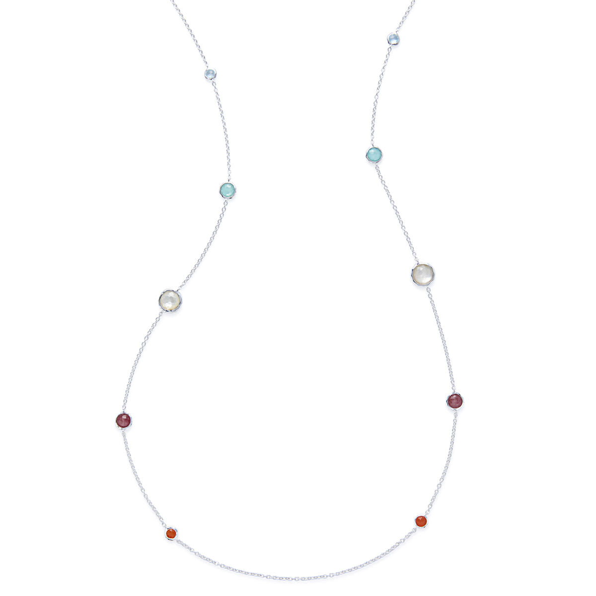 IPPOLITA Rock Candy® Lollipop Graduated Station Necklace in Multi