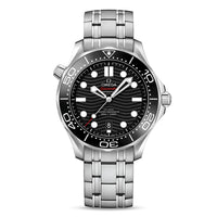 OMEGA Seamaster Diver 300M OMEGA Co-Axial Master Chronometer 42mm with Black Dial