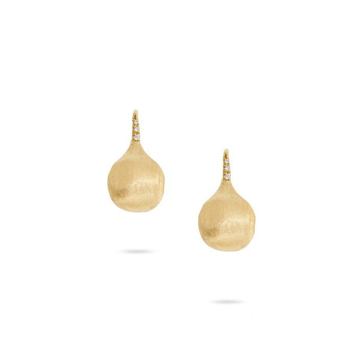 Marco Bicego Africa 18K Yellow Gold Constellation French Wire Earrings