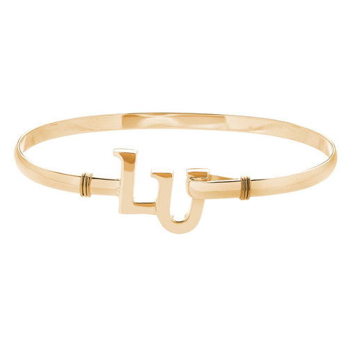 Gold Plated Fink's Liberty University Bracelet