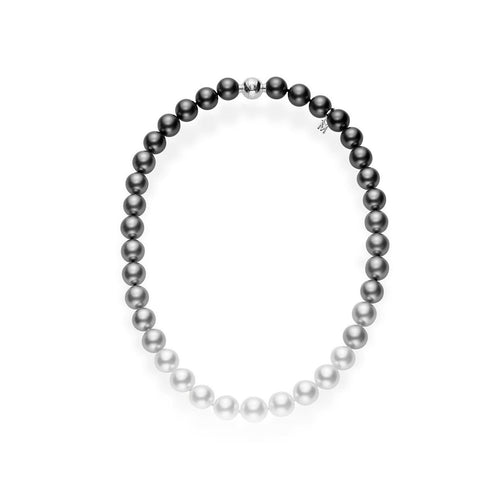 Mikimoto 13.4x9.3mm South Sea Pearl Ombre Choker Necklace
