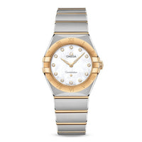 OMEGA Constellation Manhattan Quartz 28mm with Yellow Gold