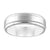 Load image into Gallery viewer, Diana Men's 6.5mm Platinum Brushed Wedding Band
