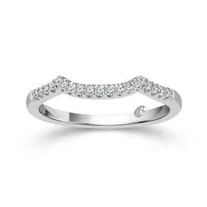 Fink's Exclusive Princess Halo Engagement Ring Set with Infinity Detailing