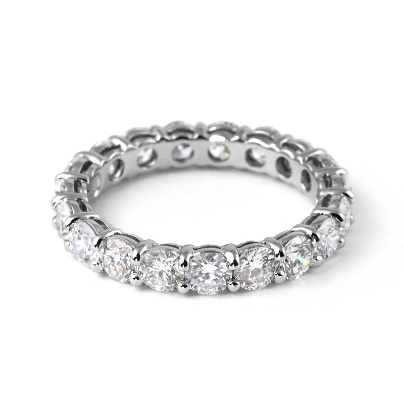 Fink's 19 Round Cut Diamond Eternity Band