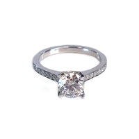 Forevermark Round Diamond Engagement Ring