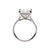 Load image into Gallery viewer, Fink's Exclusive Platinum Princess Cut Diamond Split Shank Engagement Ring