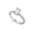 Load image into Gallery viewer, Fink's Platinum ASHOKA® Diamond Center Stone Engagement Ring