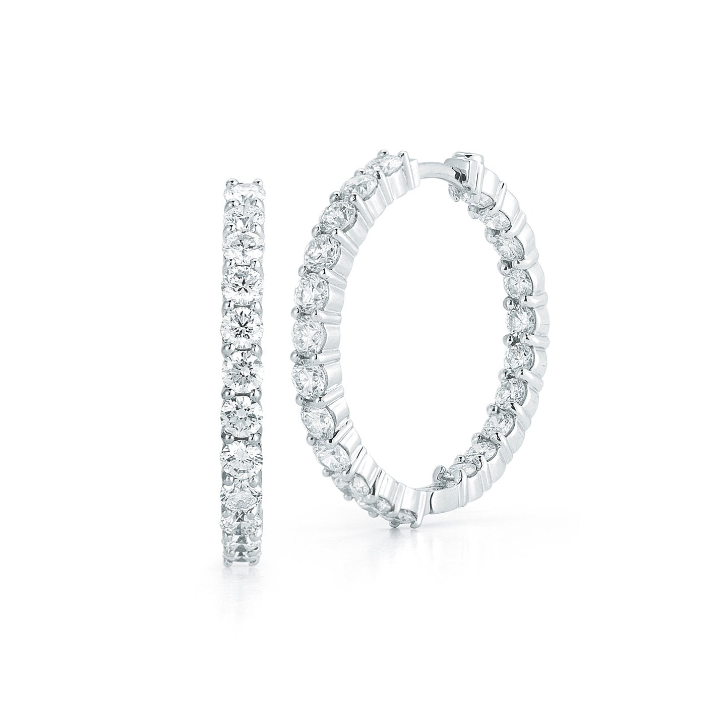 058ec56ee Perfect Inside-Out Diamond Hoops | Roberto Coin | Fink's