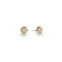Marco Bicego Delicati 18K Yellow Gold Diamond Earrings