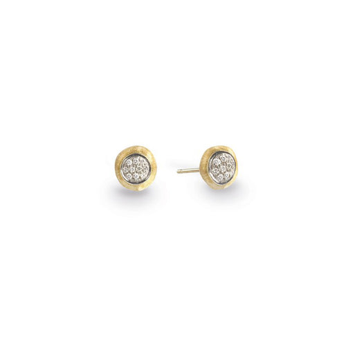 Marco Bicego Jaipur 18K Yellow Gold Diamond Earrings