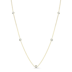 Roberto Coin Diamonds by the Inch 7 Station Necklace