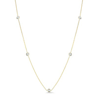 Roberto Coin Diamonds by the Inch Five Station Necklace