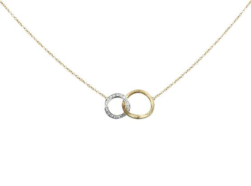 Marco Bicego Jaipur Link 18K Yellow Gold Diamond Necklace