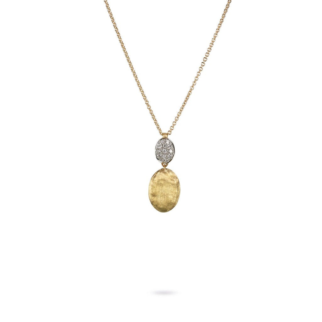 Marco Bicego Siviglia 18K Yellow Gold Pendant with Diamonds