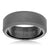 Load image into Gallery viewer, Triton RAW Men's 8mm Black PVD Tungsten Beveled Edge Wedding Band