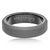 Load image into Gallery viewer, Triton RAW Men's 6mm Grey PVD Tungsten Beveled Edge Flat Profile Wedding Band
