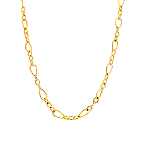 Roberto Coin Designer Gold 18K Yellow Gold Chain Necklace