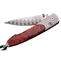 "William Henry Lancet ""Scarlet Pine"" Pocket Knife"