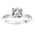 Load image into Gallery viewer, Fink's Exclusive Round Diamond and Cutout Diamond Shank Engagement Ring